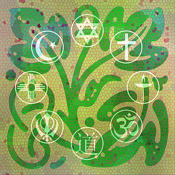 Interfaith Art 14 by Dyana  Jean