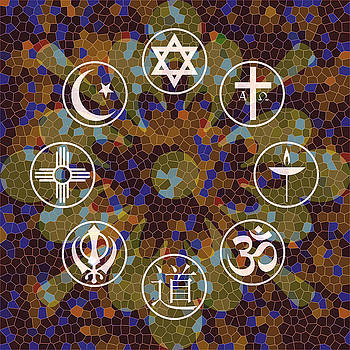 Interfaith Art 15 by Dyana  Jean