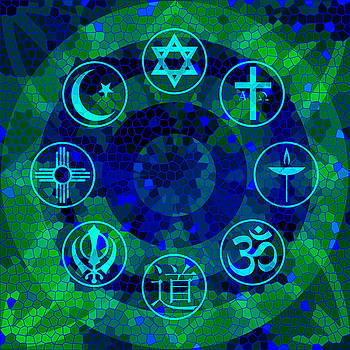 Interfaith Art 16 by Dyana  Jean