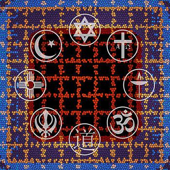 Interfaith Art 18 by Dyana  Jean