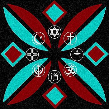 Interfaith Art 20 by Dyana  Jean