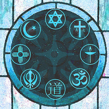 Interfaith Art 21 by Dyana  Jean