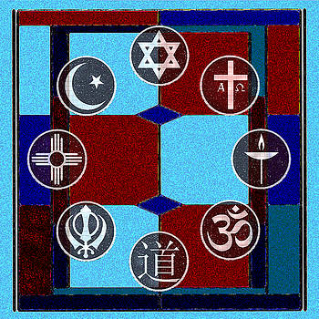 Interfaith Art 25 by Dyana  Jean