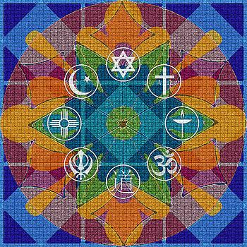 Interfaith Art 26 by Dyana  Jean