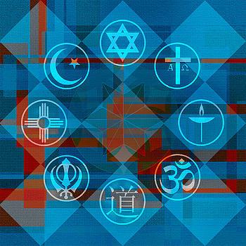 Interfaith Art 27 by Dyana  Jean