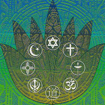 Interfaith Art 28 by Dyana  Jean