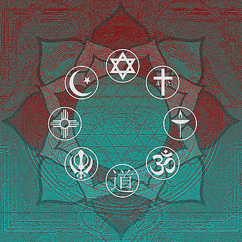 Interfaith Art 33 by Dyana  Jean