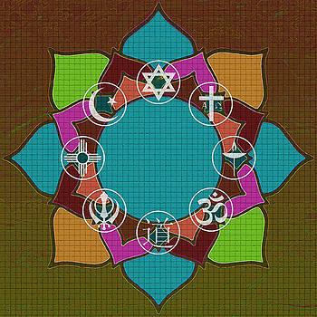 Interfaith Art 34 by Dyana  Jean