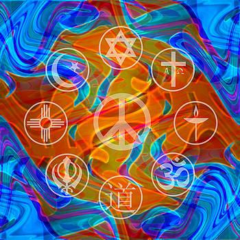 Interfaith Art 8 by Dyana  Jean