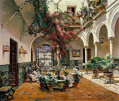 Interior Courtyard by MotionAge Designs
