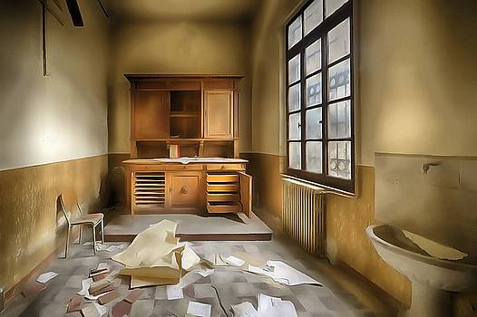 Enrico Pelos - INTERIOR FURNITURE ATMOSPHERE of Abandoned Places dig paint