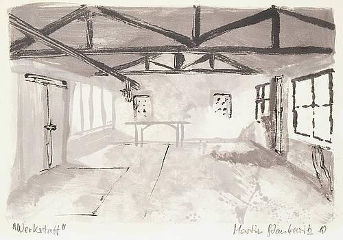 Martin Stankewitz - interior of an abandoned workshop