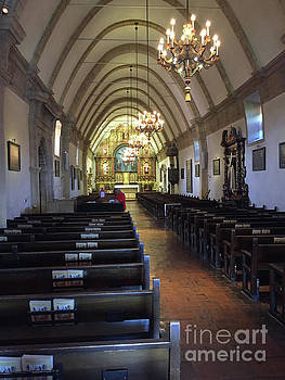 California Views Archives Mr Pat Hathaway Archives - Interior Of Carmel Mission Looking Towards The Altar. 2017