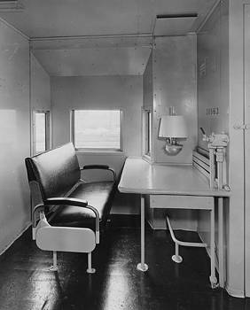 Chicago and North Western Historical Society - Interior of Newly Made Caboose