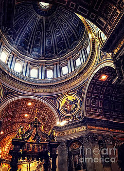 Interior of St Peters by HD Connelly