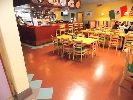 Interior Restaurant by Kathern Welsh
