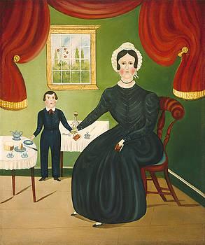 American 19th Century - Interior Scene