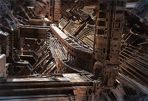 Interior Support Structure by Hal Tenny