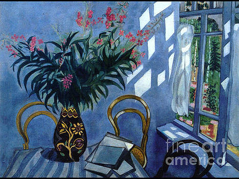 Marc Chagall - Interior With Flowers
