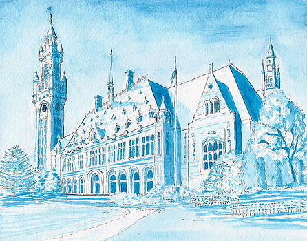 International Peace Palace by Vic Delnore