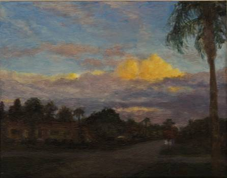 Intersection at Dusk by L Stephen Allen
