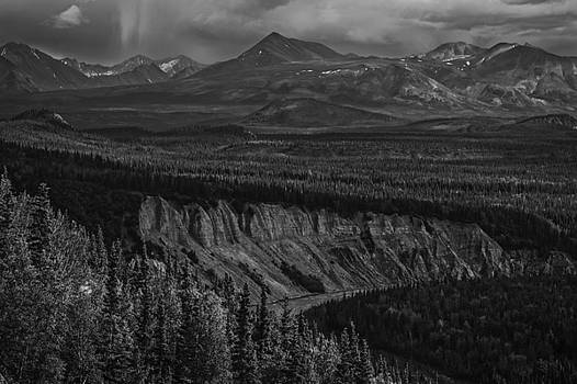Into Denali From Talkeetna by Michael Berry