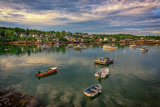 Into Stonington Harbor by Rick Berk