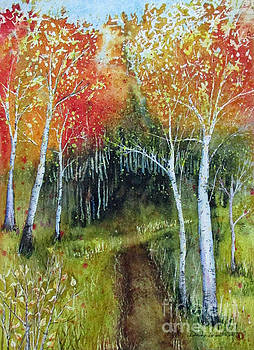Into The Aspen Grove by Donlyn Arbuthnot