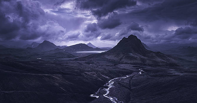 Into The Highlands by Tor-Ivar Naess