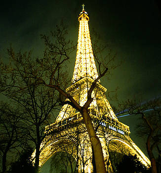 Paris by night... Eiffel Tower by Atelier Bellanda