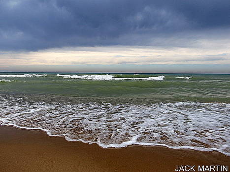 Into The Storm Lake Michigan Bliss Waves And Dreams by Jack Martin