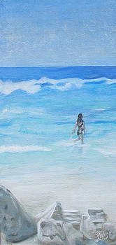 Into the Surf by Dixie Hester