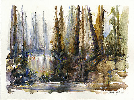 Into the Woods by Kristina Vardazaryan
