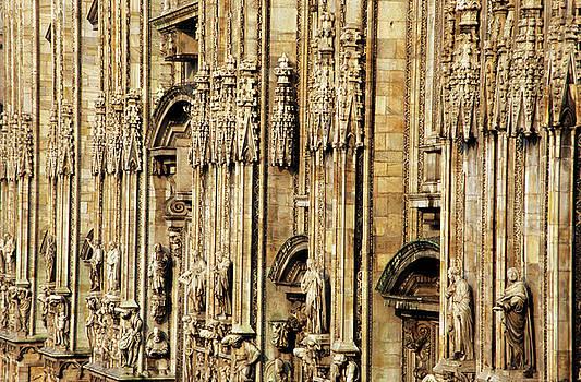 Sami Sarkis - Intricate sculptures on the Milan Cathedral