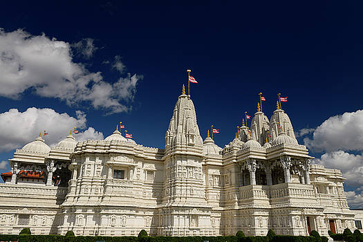 Reimar Gaertner - Intricately hand carved BAPS Shri Swaminarayan Mandir Hindu Temp
