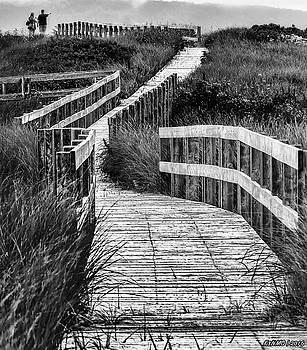 Inverness Boardwalk by Ken Morris