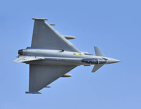 Inverted Typhoon in the Welsh Hills by Barry Culling