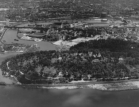 Inwood Hill Park aerial, 1935 by Cole Thompson
