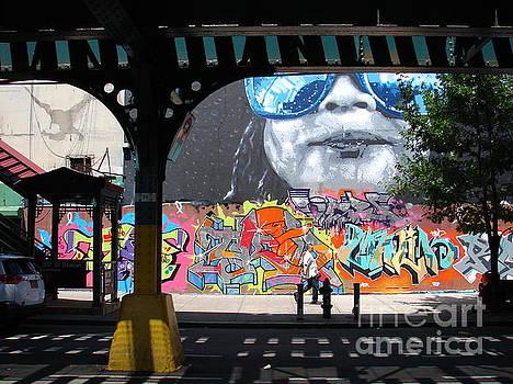 Inwood Street Art  by Cole Thompson