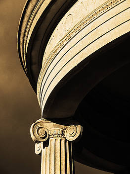 Ionic capital by Richard Hayman