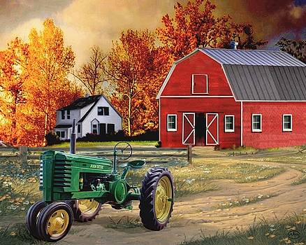 Iowa Farm 2 by Ron Chambers