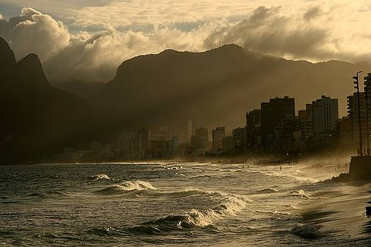 Ipanema Sunset by Miranda  Miranda