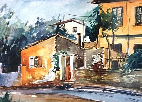 Ipiros old houses by George Siaba