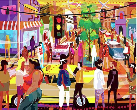Ir De Compras Mexico by Charles Harker