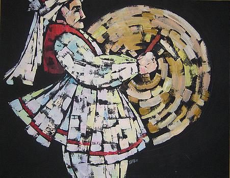 Iranian drummer by Azadeh Amiri