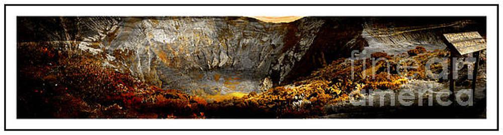 Irazu Volcano Crater Panorama - Costa Rica II by Al Bourassa