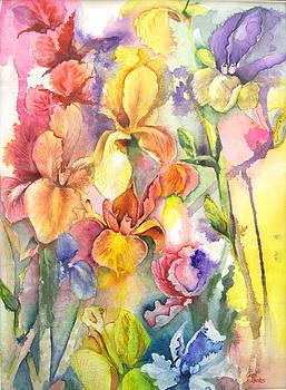 Iris by Carol Rhodes