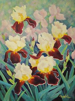 Iris Garden Dance by Carol Reynolds