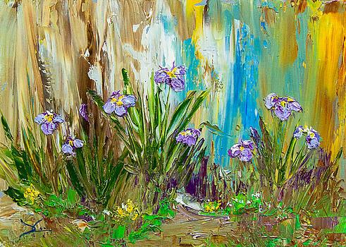 Dee Carpenter - Iris in my Garden