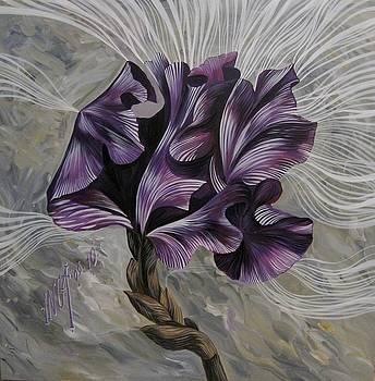 Iris by Inga Vereshchagina